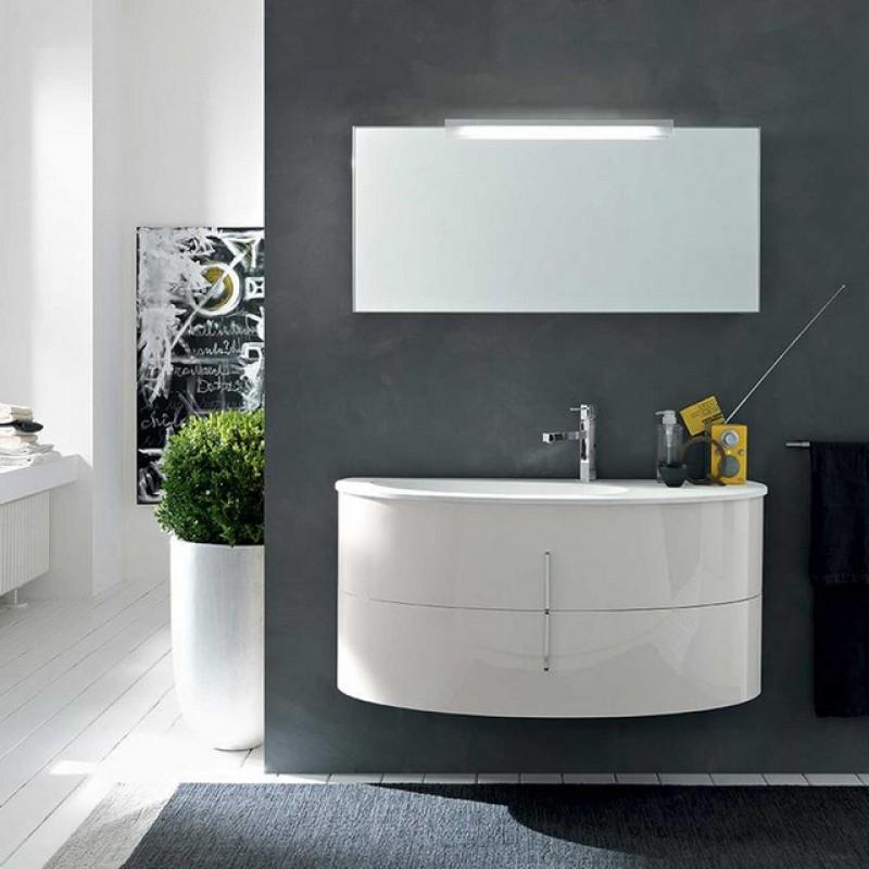 Oval 05 113 mobili bagno sospesi mobili bagno - Mobile bagno stondato ...