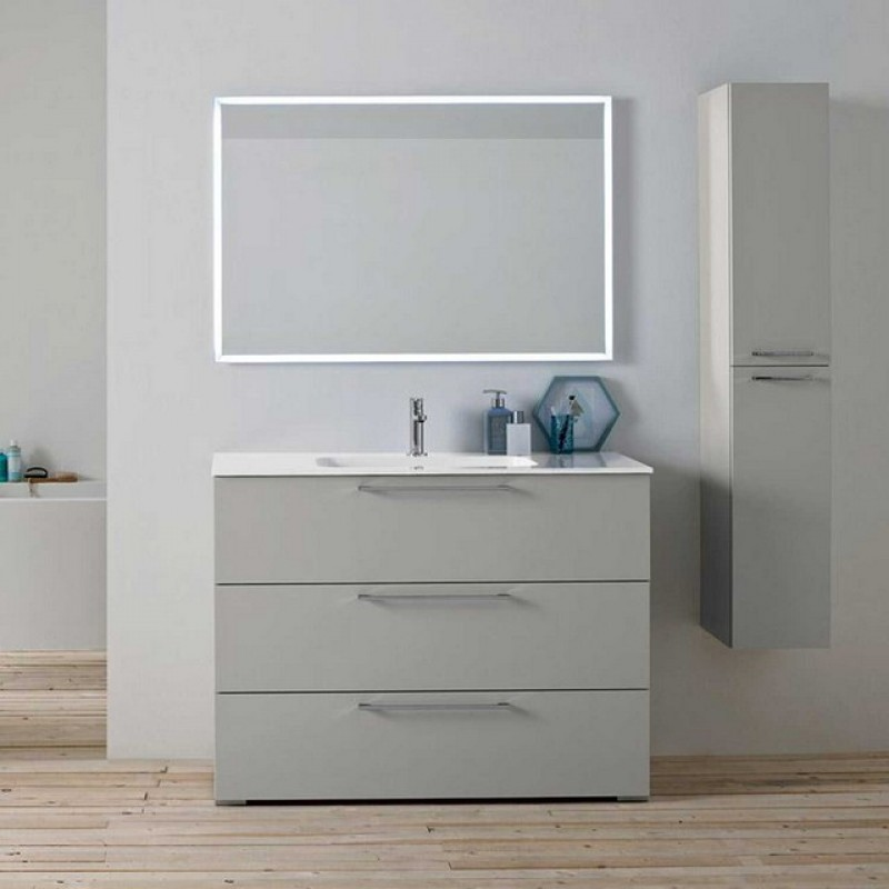 Dado 03 105 mobile bagno a terra mobili specchi for Vendita mobili bagno