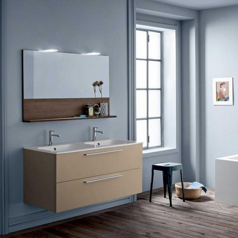 Dado 05 120 mobili bagno sospesi mobili specchi for Arredo bagno moderno economico