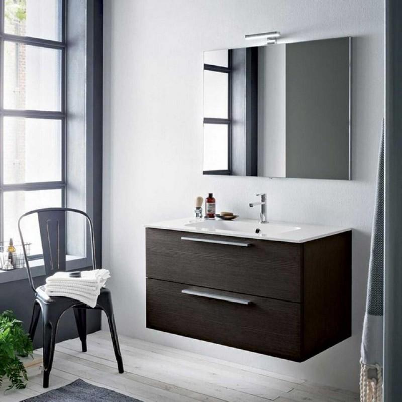 Dado 07 90 mobili bagno sospesi mobili specchi for Arredo bagno moderno economico
