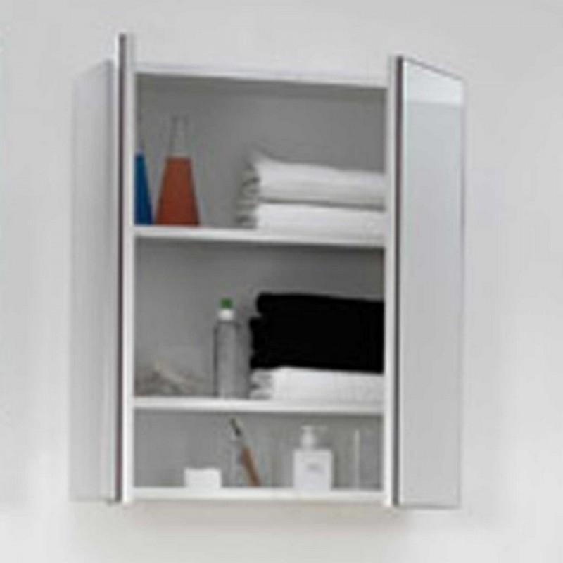 Pensile Specchio Contenitore Per Bagno.Specchio 45 50 60 75 80