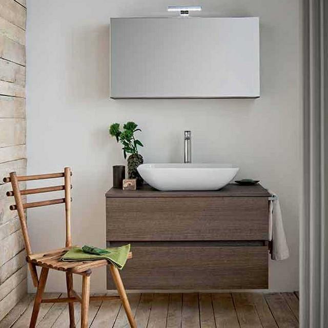 Tris 06 90 mobili bagno - Mobili bagno lavabo appoggio ...