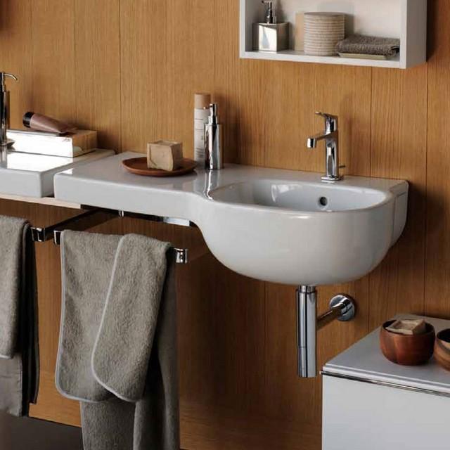 500 lavabo - Mobile bagno asimmetrico ...