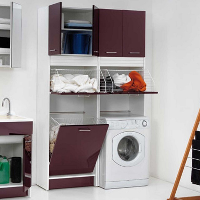 Emejing armadi per lavanderia ideas - Mobili per lavanderia ...
