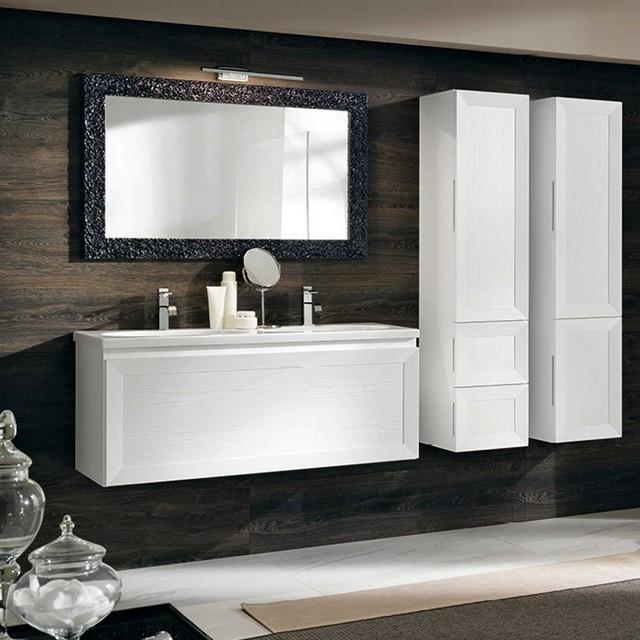 Paola 18 120 mobili bagno sospesi mobili bagno - Mobili bagno eban ...
