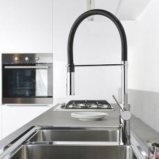 miscelatore-rubinetto-cucina-paffoni-light-lig179crno