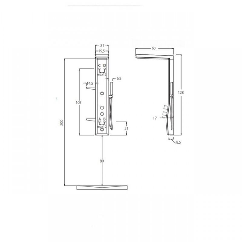 colonna-doccia-hafro-etoile-125