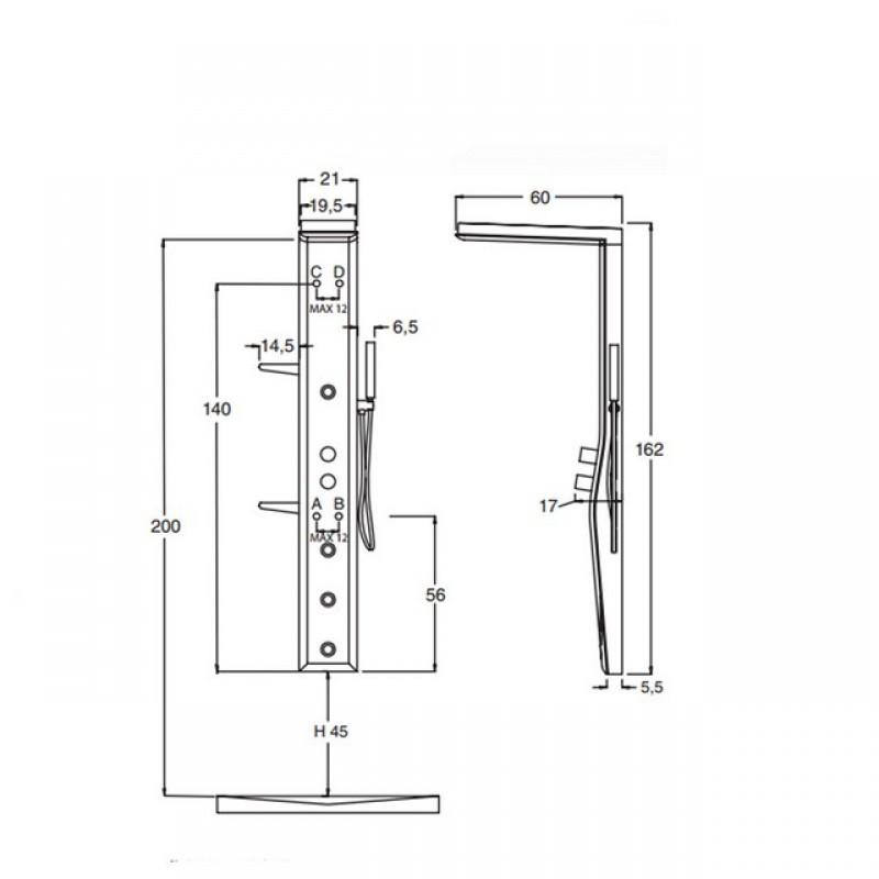 colonna-doccia-hafro-etoile-160