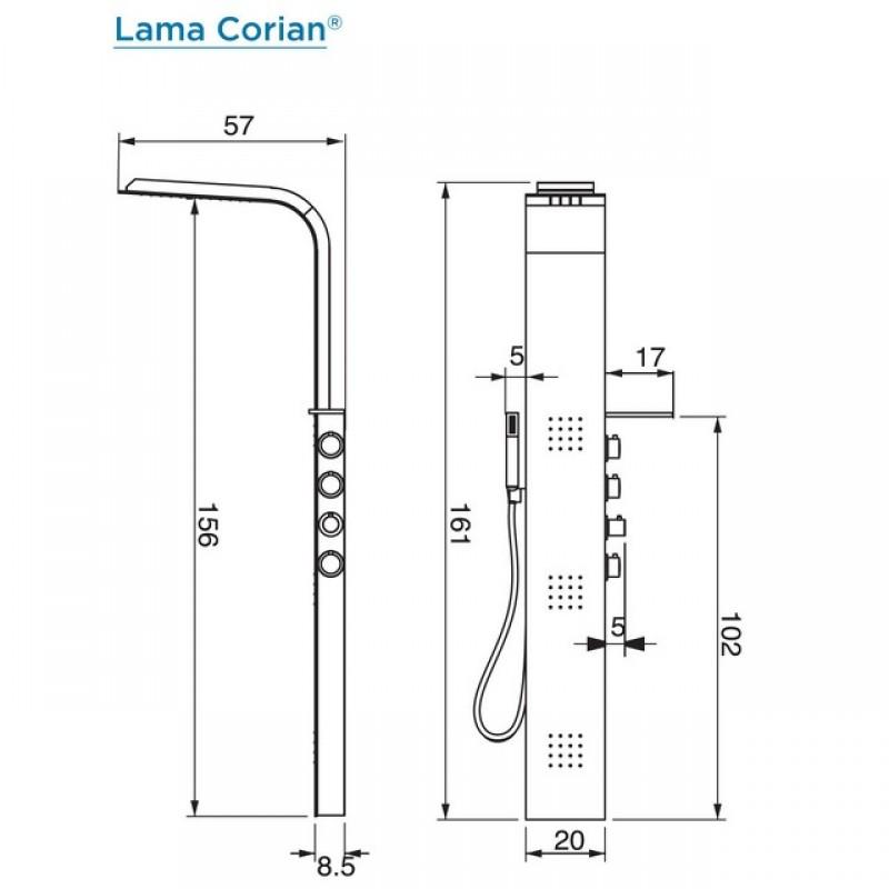 colonna-doccia-hafro-lama-corian