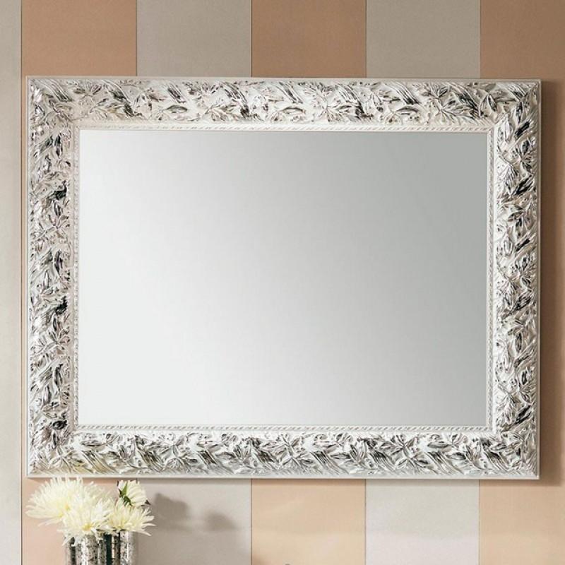 Olivia specchi bagno mobili specchi - Specchio cornice bianca ...