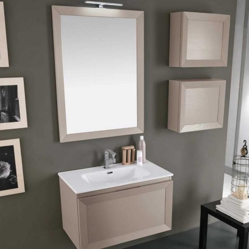 Paola 17 80 mobili bagno sospesi mobili specchi for Outlet mobili italia