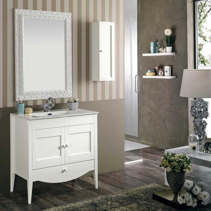 Pamela 14 80 mobili bagno - Mobili bagno legno massiccio ...