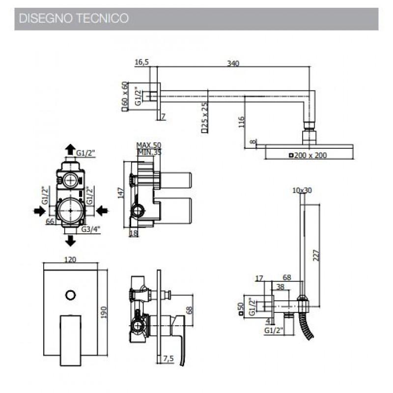 paffoni-doccia-kit-les015-level-prezzo-online