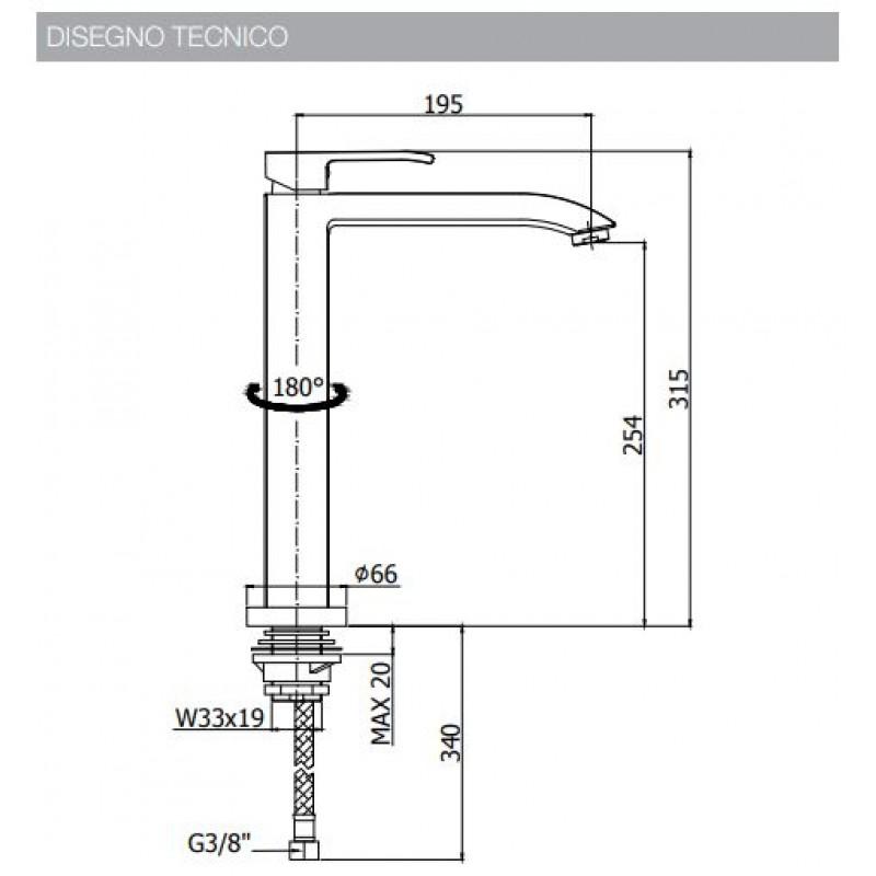 miscelatore-rubinetto-cucina-paffoni-level-les188cr-les188st