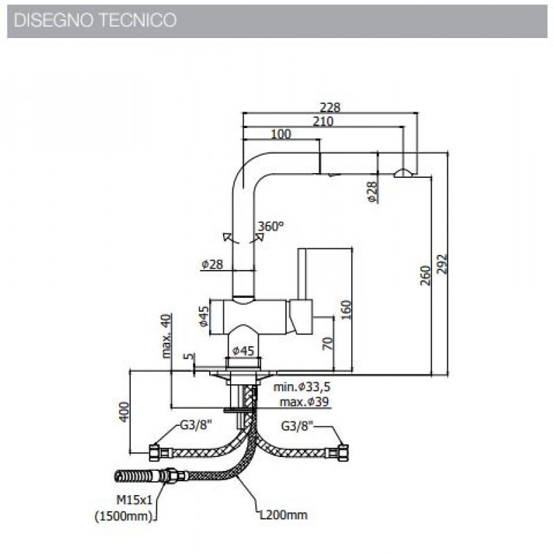 miscelatore-rubinetto-cucina-estraibile-paffoni-light-lig285cr
