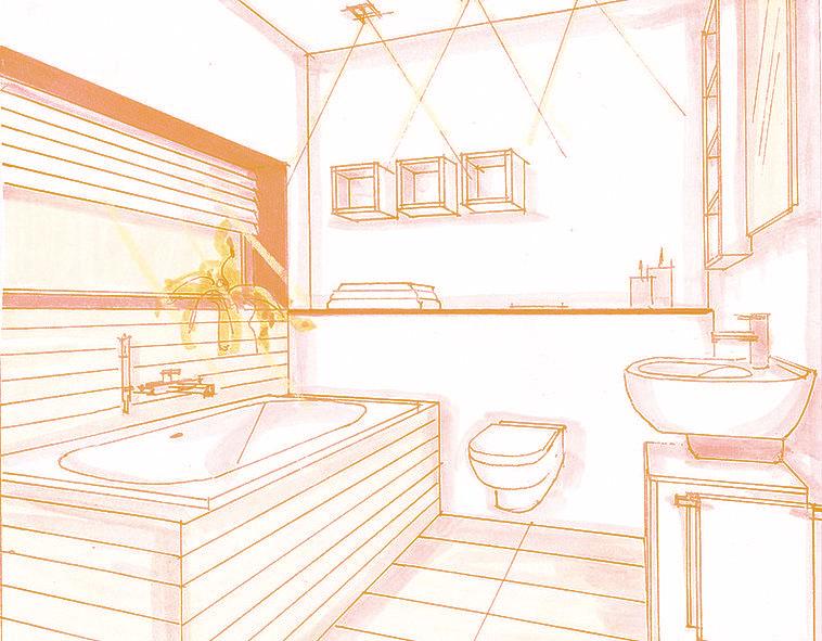 il bagno piccolo con Vasca arredobagno360.it