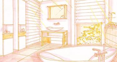 Il bagno di grandi dimensioni Arredobagno360.it