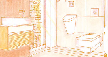 Il bagno degli ospiti Arredobagno360.it
