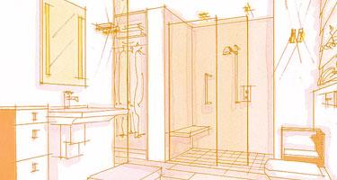 il bagno piccolo con Vasca by arredobagno360.it
